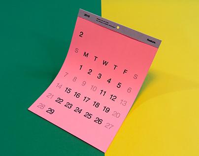 vivid calendar 2016