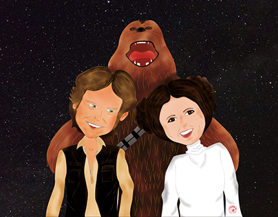 """Han Solo & Leia - """"Project Couples"""""""
