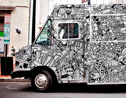 Food Truck | Doodle Illustration