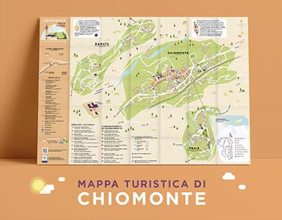 Mappa turistica - Chiomonte