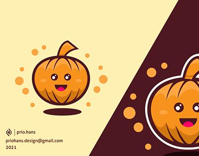 Simple Pumpkin Mascot