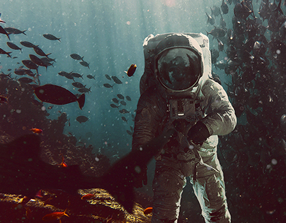Aquatic Astronaut