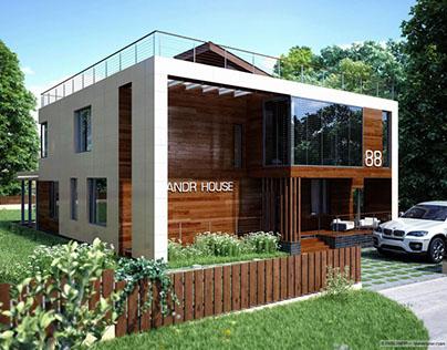 Dwelling house 421 sq m