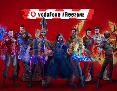 Vodafone - LoL Sponsorship Campaign