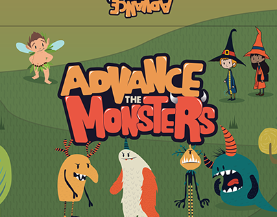 Advance The Monsters | Board Game