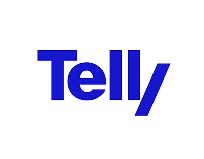Telly – visual identity