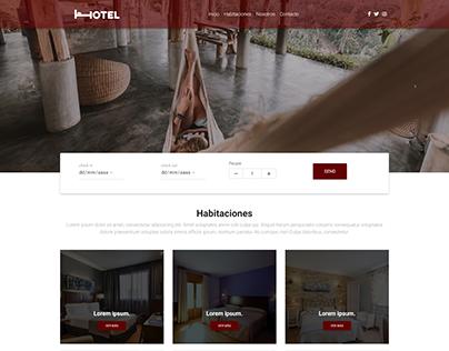 Diseño Web - Hotel