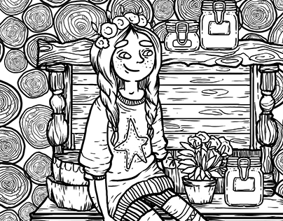 HYGGE coloring book