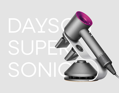 Landing page Dayson supersonic