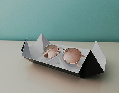 Presentation box for glasses
