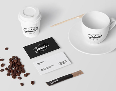 Goduria - restaurant, lounge, café / Identity