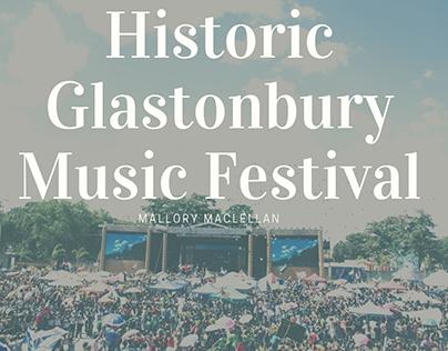 Historic Glastonbury Music Festival