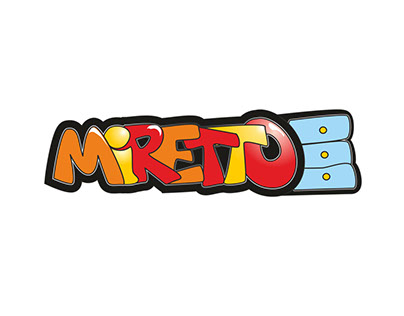Logo project for Miretto, furnitures for children