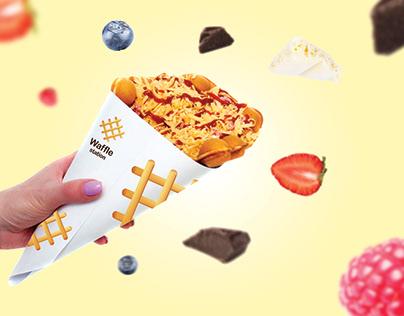 Waffle Station - Brand Developmet