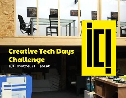 Creative Tech Days @ ICI Montreuil