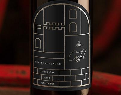 Castel Red Wine - Visual Identity