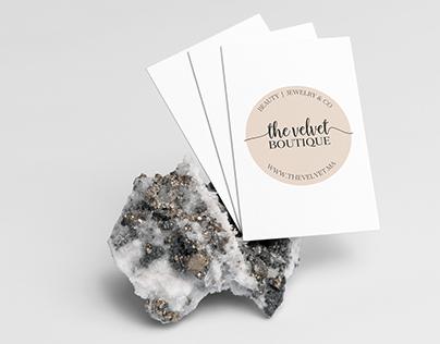 The Velvet | Brand identity