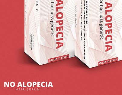 NO ALOPECIA   Packaging