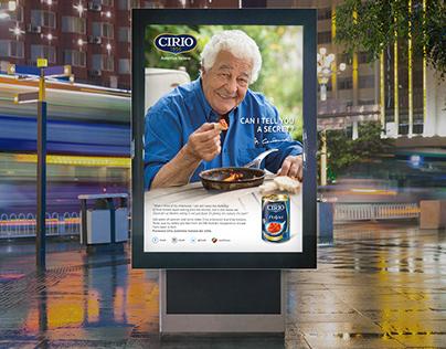 Cirio UK | Chef Carluccio Campaign