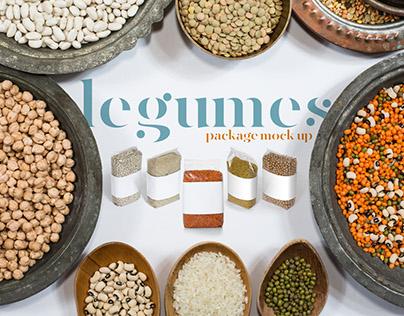 Legumes Packages MockUp