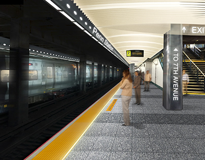 Penn Station Platform Improvements