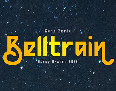 Belltrain Typeface