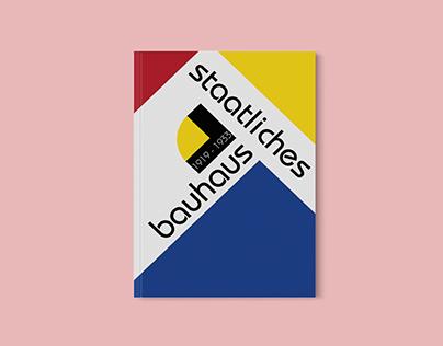 Bauhaus inspired magazine layout - School project