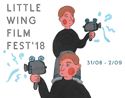 Posters for the festival of short films