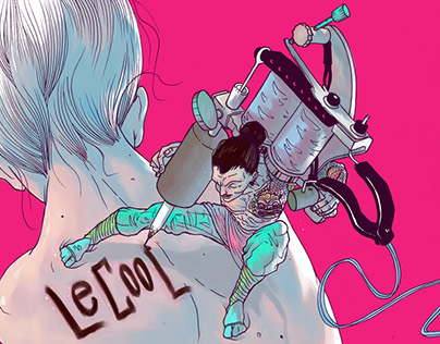 Tattoo Girl - LeCool Roma Cover