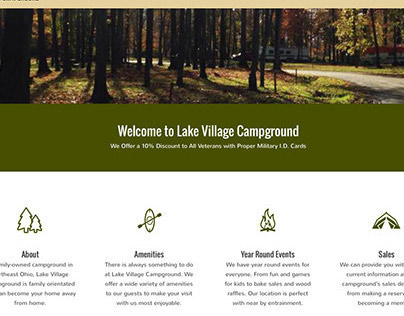 Lake Village Campground Website