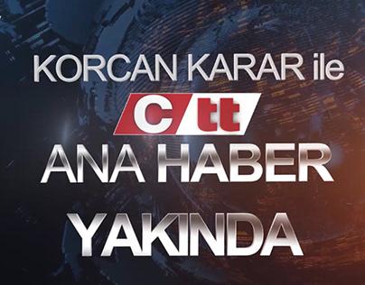 Ctt Haber TV Ana Haber Tanıtımı