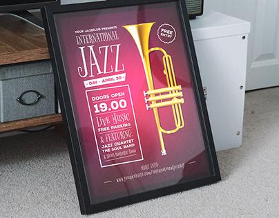 International Jazz Day Posters / Flyers