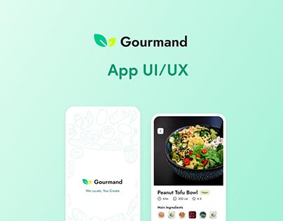 Gourmand UI/UX