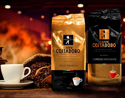 Дизайн упаковки для кофе TM Costadoro