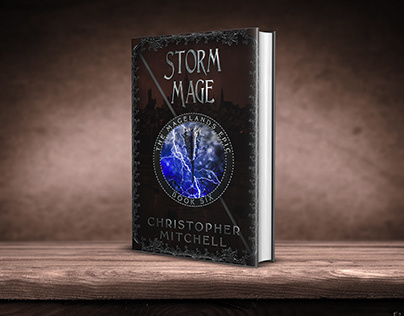 Storm Mage book cover design
