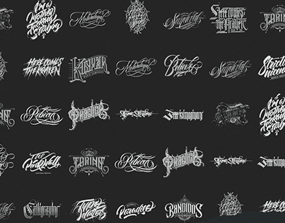 Logotypes & Lettering Collection Vol. 1