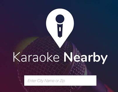 Karaoke Nearby: PWA Student Project