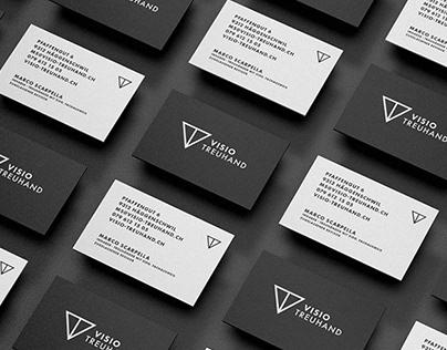 Visio Treuhand — Corporate Design