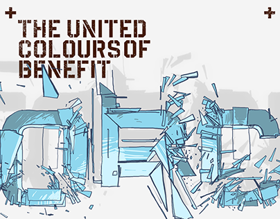 The United Colours of Benefit Force - EP Cover Series