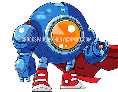 Mecha-man - Megaman Inspired Unused Game Design