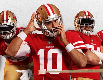 2019 49ers Off Season Branding