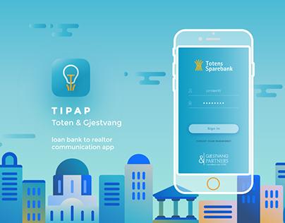 Tipap / bank-realtor communication app