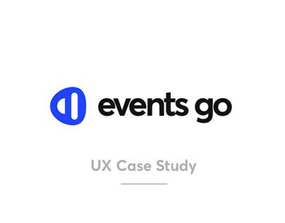 Events App - UX Case Study