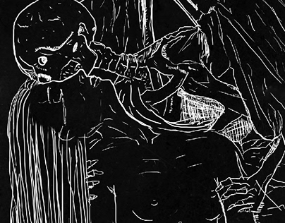 Poster Turnê fictícia da banda Lacrimosa