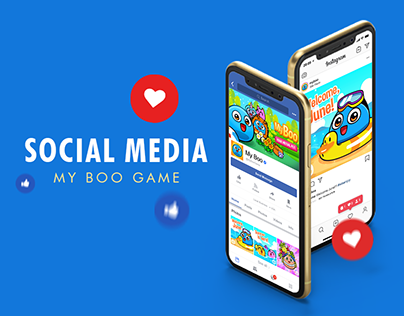 Social Media - My Boo Game