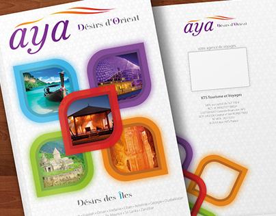 Aya: alternate cover & logo