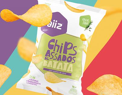 Raiiz // Sweet potato chips