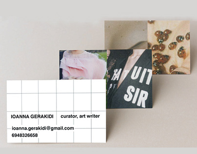 curator business cards