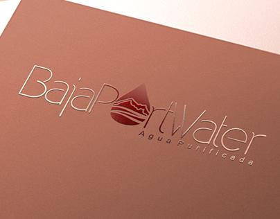 BAJA PORT WATER ©   BRANDING