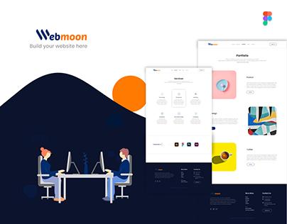Webmoon -Build your website here
